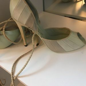 FENDI 100% Authentic Open Toe heels